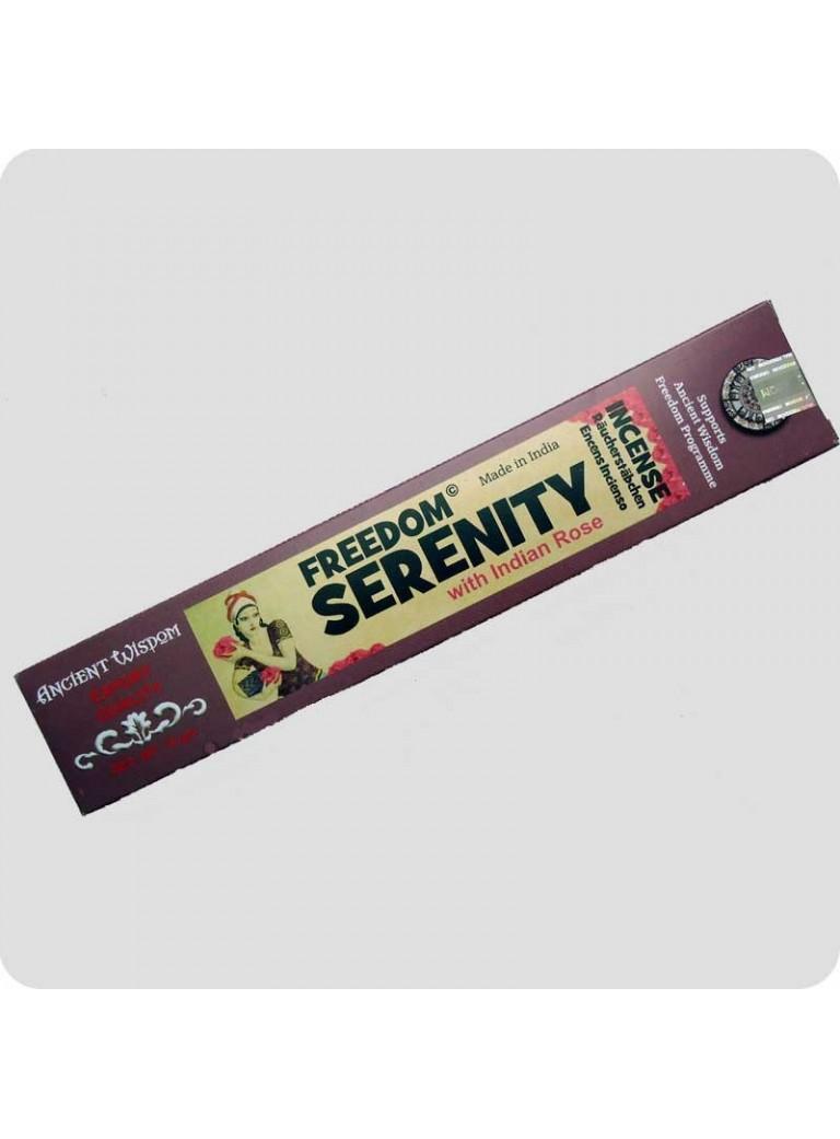 Freedom røgelse Serenity - indisk rose