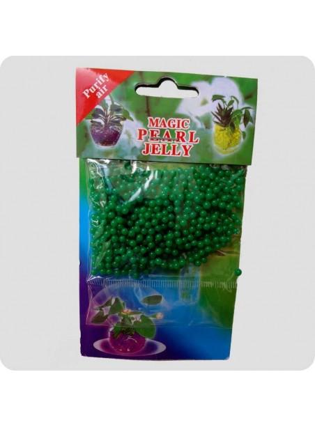 Geleperler til vaser lys grøn