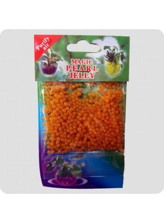Geleperler til vaser orange